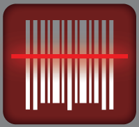 Red Laser iPhone App Logo