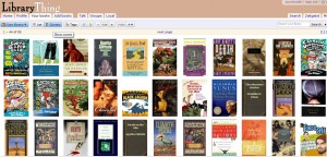 LibraryThing.com screenshot