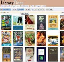 Library Thing ScreenShot