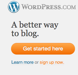 Get Started Here button